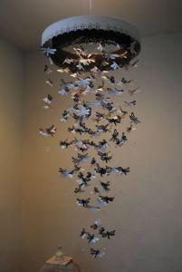 Chandelier Monarch Butterfly